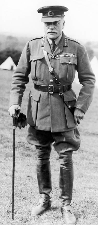 """Brits opperbevelhebber Douglas Haig bedacht het ambitieuze strijdplan, dat later """"een militair fiasco"""" werd genoemd."""