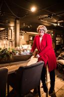 Mariska van Angelen in de nieuwe woonwinkel 'Altijd iets. moois' in Oosterbeek.