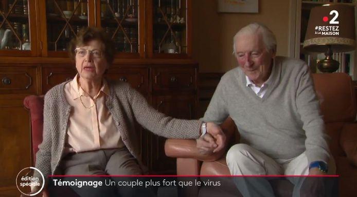 Monique (88 ans) et Henri (90 ans)
