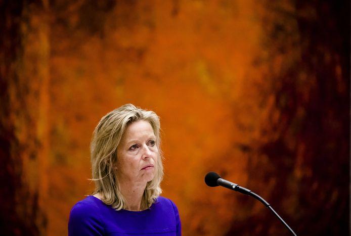 Minister Kajsa Ollongren van Binnenlandse Zaken en Koninkrijksrelaties (D66).