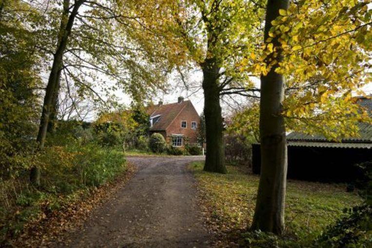 Een van de twee naoorlogse boerderijen op De Horsten die misschien gesloopt wordt. ANP Beeld