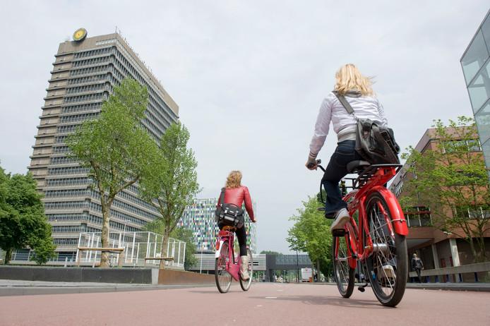 Het 'Fietspad van de Toekomst' moet komen te liggen tussen De Uithof en Wageningen.