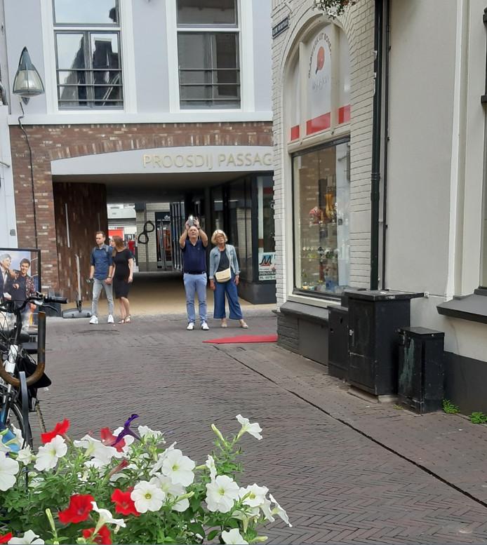 De opgeknapte Proosdijpassage in hartje Deventer binnenstad.
