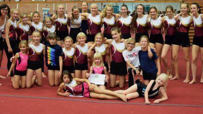 Turners Gymclub Klim Op krijgen dagelijkse 'challenge' om in beweging te blijven