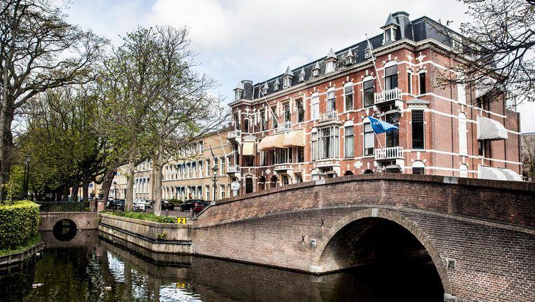 Het 'Takmabruggetje', vernoemd naar de oude heer Takma (Van oude menschen) Beeld Aurélie Geurts