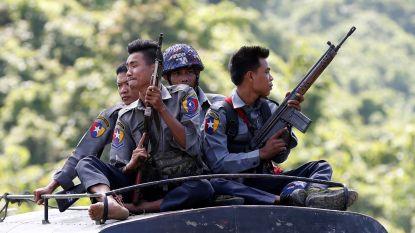 Rohingya-rebellen vallen militairen aan in Rakhine