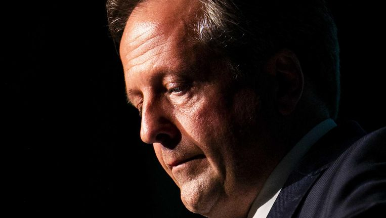 Op het D66-congres afgelopen zaterdag zei Alexander Pechtold plaats te maken voor een nieuwe generatie Beeld ANP
