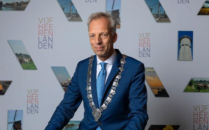 Burgemeester Sjors Fröhlich van Vijfheerenlanden.