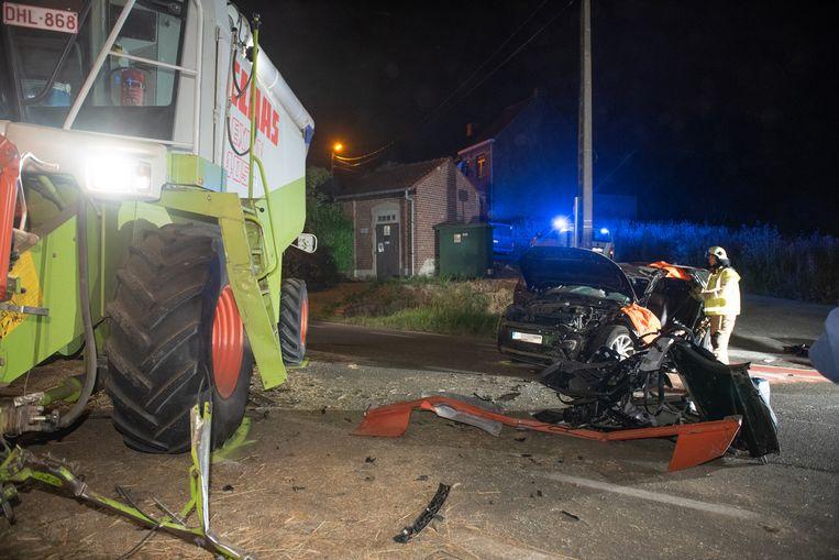 Als gevolg van het ongeval werd de N8 in beide richtingen afgesloten voor alle verkeer.