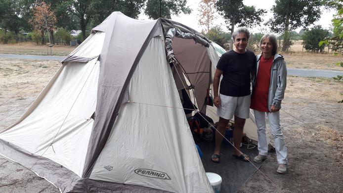 Annemiek Vassilis op de camping in Cromvoirt