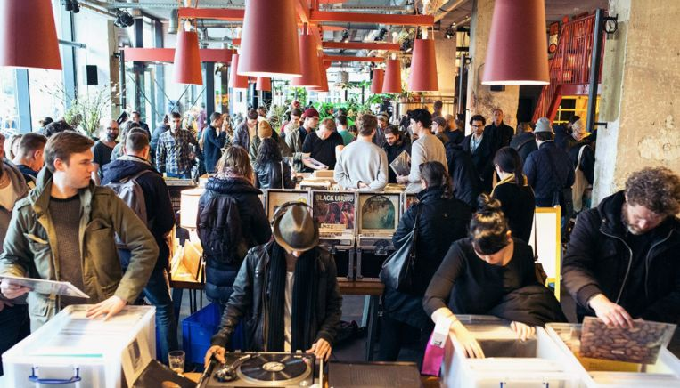 Van hip hop tot jazz vind je op de Good Music Vinyl Market Beeld Raymond van Mil
