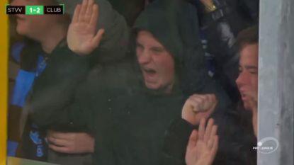 """Ook Brugse fans maken kennis met de kooi van STVV: """"Een pure schande"""""""