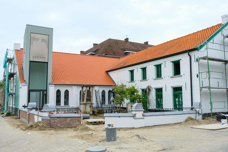 Momenteel staat het nog in de steigers, maar op 25 mei opent het vernieuwde Damiaanmuseum de deuren.