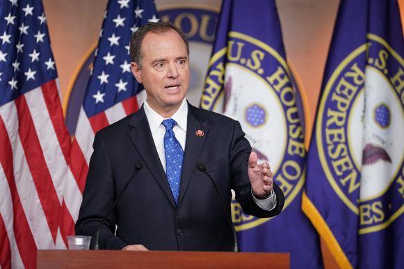 Adam Schiff, voorzitter van de Inlichtingencommissie van het Huis van Afgevaardigden.
