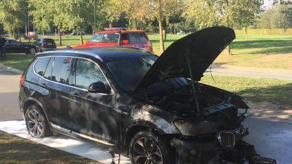 BMW vat vuur op Evolis
