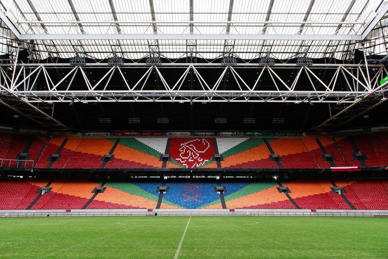 Een lege Johan Cruijff Arena. Beeld Shutterstock