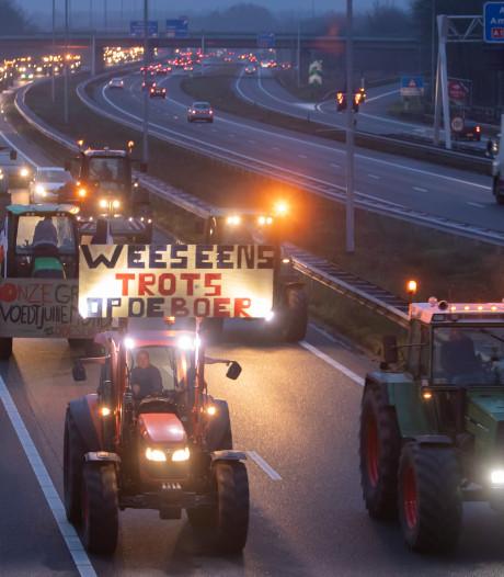 Boeren trekken weer massaal naar Den Haag: nieuw filerecord?