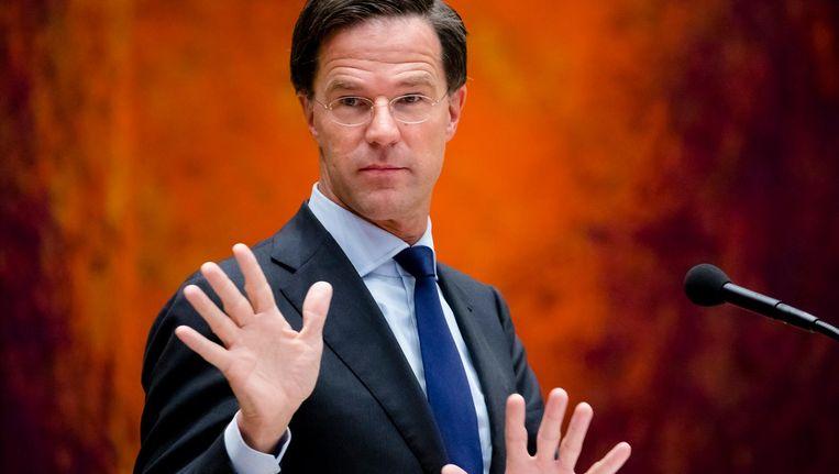 Meer dan een bijlage zat er voor Rutte niet in; dwarsliggen kan Nederland zich niet langer veroorloven Beeld anp