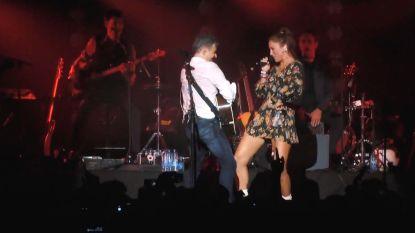 Bart Peeters en Natalia coveren Ed Sheeran op Gladiolen-festival