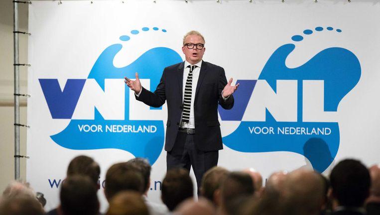VNL-voorman Jan Roos. Beeld anp
