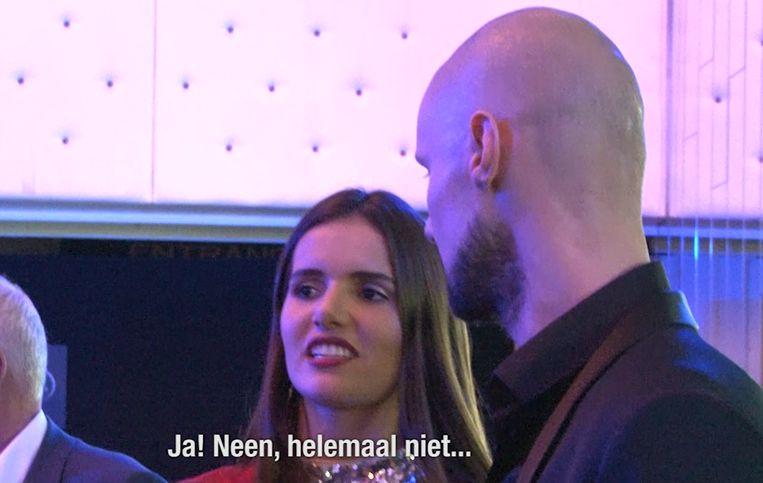 Tom Boonen bij onze videoman aan de zijde van Miss België Romanie Schotte