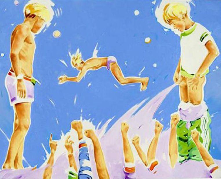 Norbert Bisky, The Artist At Work, 2005 Beeld