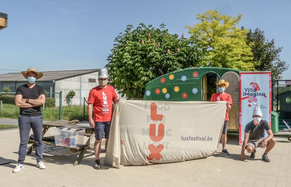 Het LUX festival en Villa iMagina slaan de handen in elkaar, met de speelcaravans.