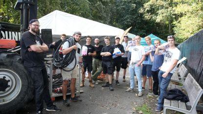 Spectakulo bouwt tweedaags feestje in park