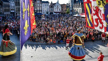 VIDEO: Volksfeest doet al proeven van sfeer Ros Beiaardommegang