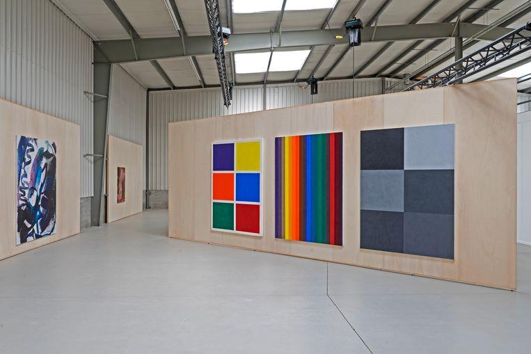 Werk van Piet Dieleman en Max Frintrop, te bewonderen op Hallucinogenic. Beeld