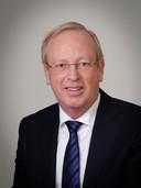 Dick Prosman in zijn tijd als wethouder van Werkendam