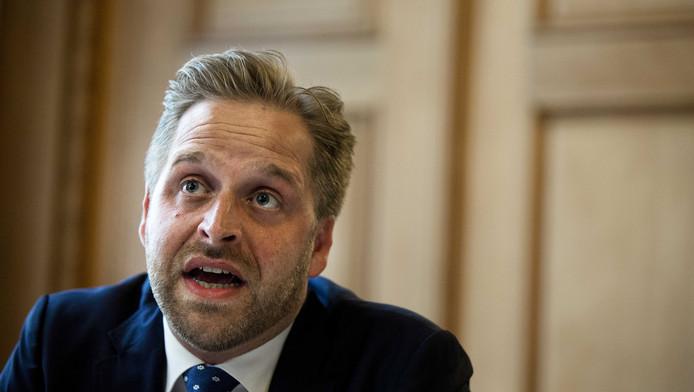 De Rotterdamse wethouder Hugo de Jonge (onderwijs, jeugd en zorg, CDA).