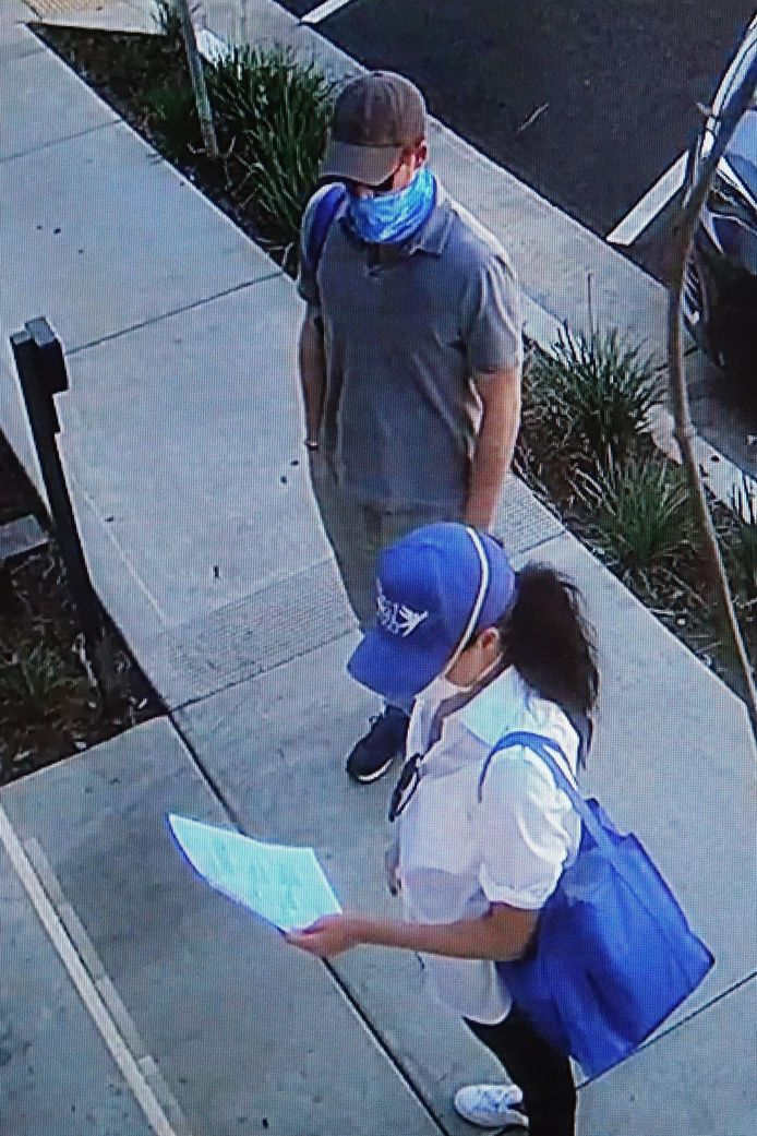 Harry et Meghan ont distribué des repas à Los Angeles.