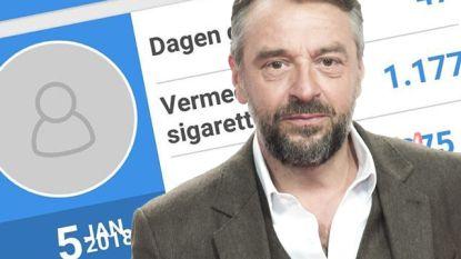 """""""Dat ik goed bezig ben"""": Tom Waes al 47 dagen gestopt met roken"""