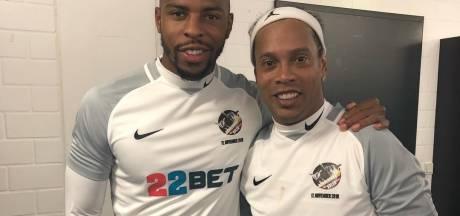 Donk voor een dag teamgenoot van Ronaldinho, Bouchard op stap in Miami