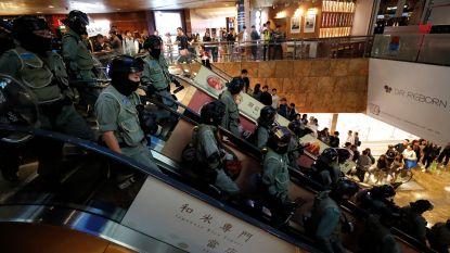 Opnieuw onrustig in Hongkong: demonstranten bezetten shoppingcentra