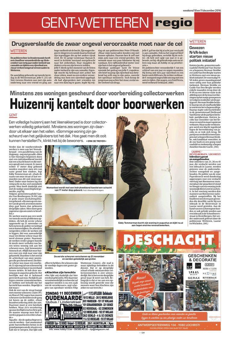 Op 10 december 2016 verscheen in deze krant een eerste artikel over de gescheurde woningen in de Zuidveenakkerstraat.
