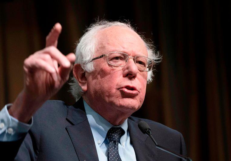 Bernie Sanders deed het met 18 miljoen dollar aan schenkingen iets beter dan Harris, maar een pák minder dan Trump.