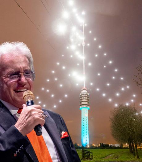 Lee Towers: 'Je wordt toch een beetje warm van de grootste kerstboom ter wereld'