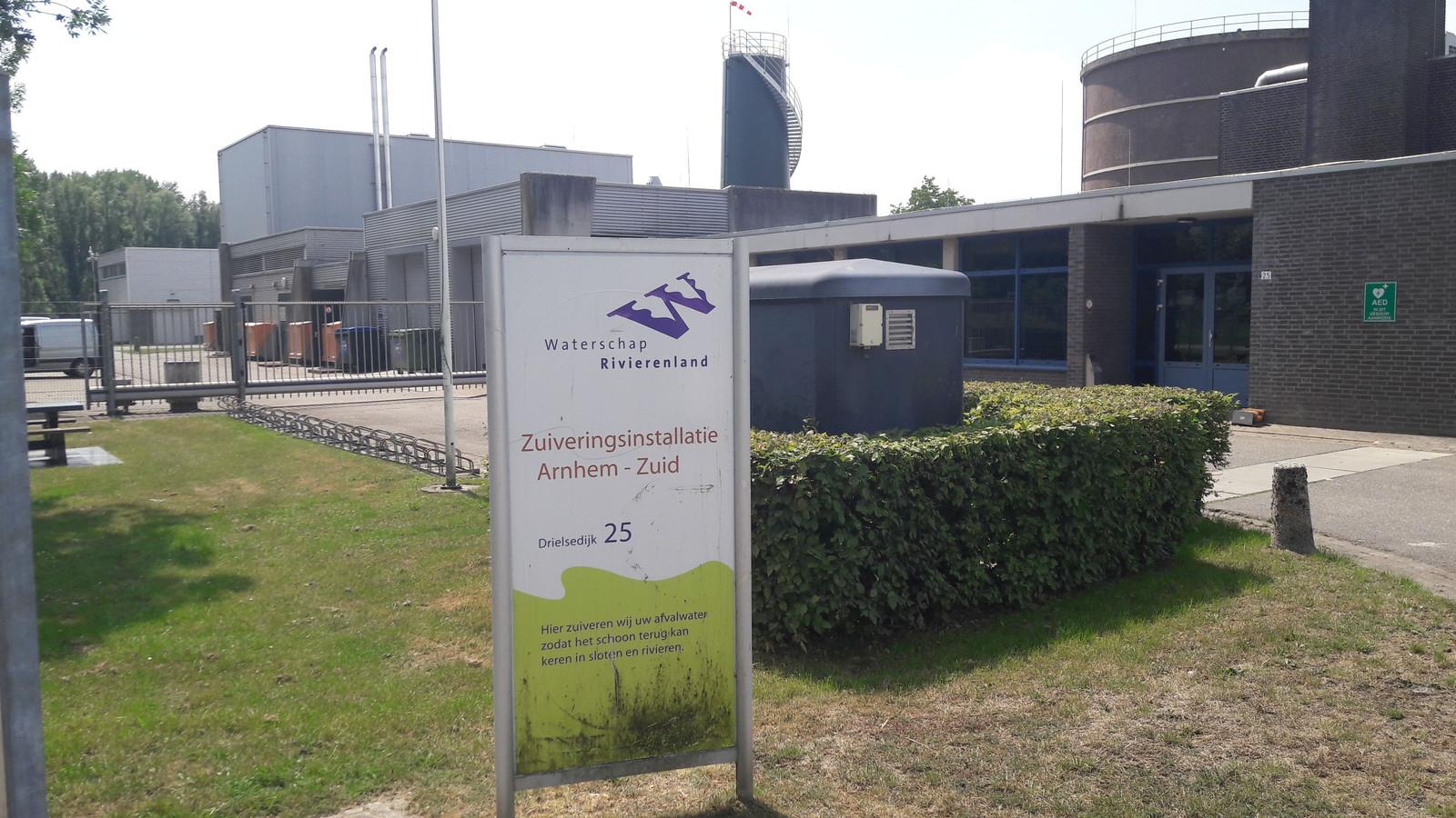 De waterzuivering aan de Drielsedijk in Arnhem-Zuid levert in de toekomst restwarmte waarmee achthonderd huizen in Elderveld-Noord kunnen worden verwarmd.