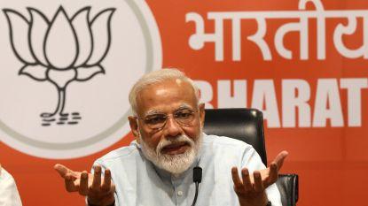Verkiezingen India - Modi stevent af op nieuwe ambtstermijn
