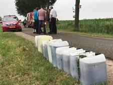 Vaten met vermoedelijk drugsafval gevonden in Hoenzadriel