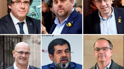 Vijf Catalanen mogen in gevangenis worden beëdigd als parlementariër