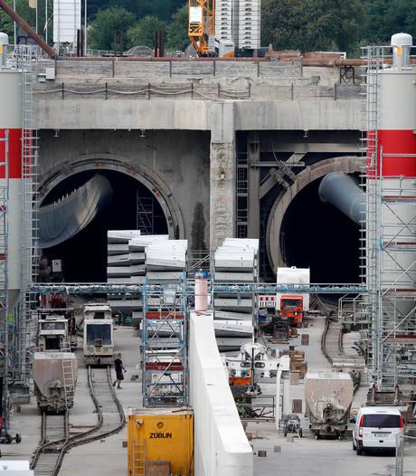Miljoenenschade na verzakking rond cruciale Europese spoorlijn