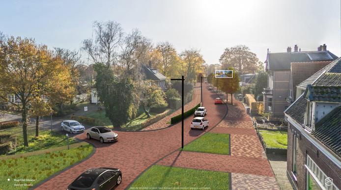 De Rijksstraatweg in Voorst komt er ongeveer zo uit te zien.