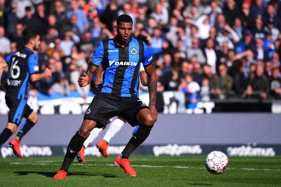 Wesley Moraes in het shirt van Club Brugge.