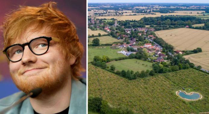 Ed Sheeran heeft weeral twee huizen gekocht.