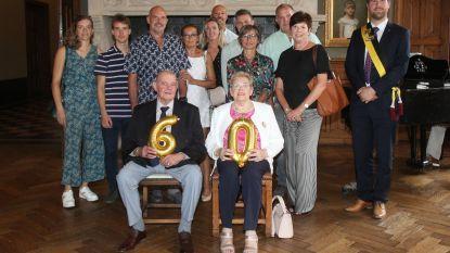 Pierre en Marie-Louise vieren diamanten jubileum: bedenker Gouden Petattenworp en sponsor grote Flandriens maar nooit zonder zijn Marie-Louise aan zijn zijde