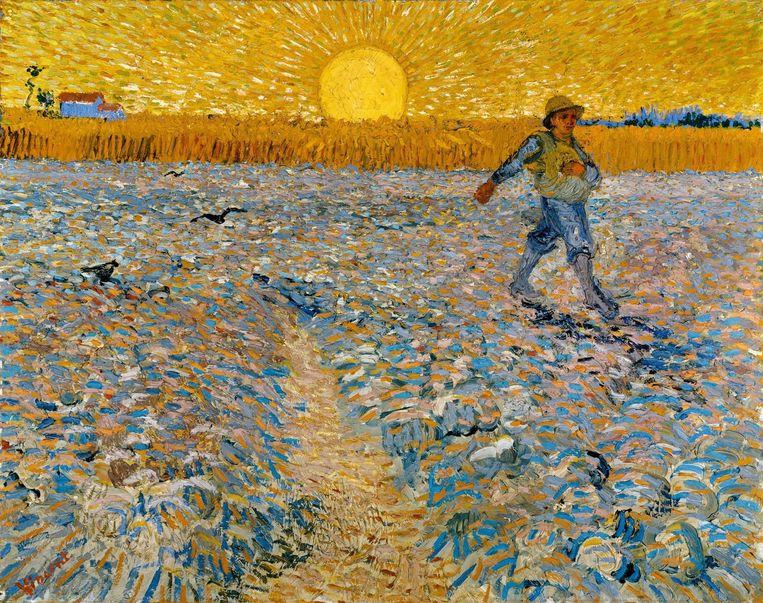 Het werk 'Il seminatore' van Vincent van Gogh. Beeld ANP