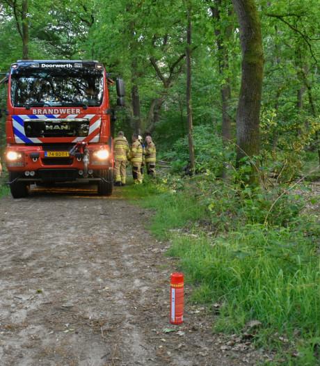 Drie brandstichters opgepakt op Doorwerthse Heide